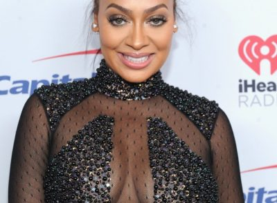 La La Anthony Topless