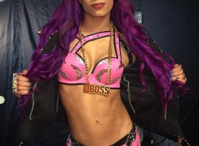 Sasha Banks Wardrobe Malfunction