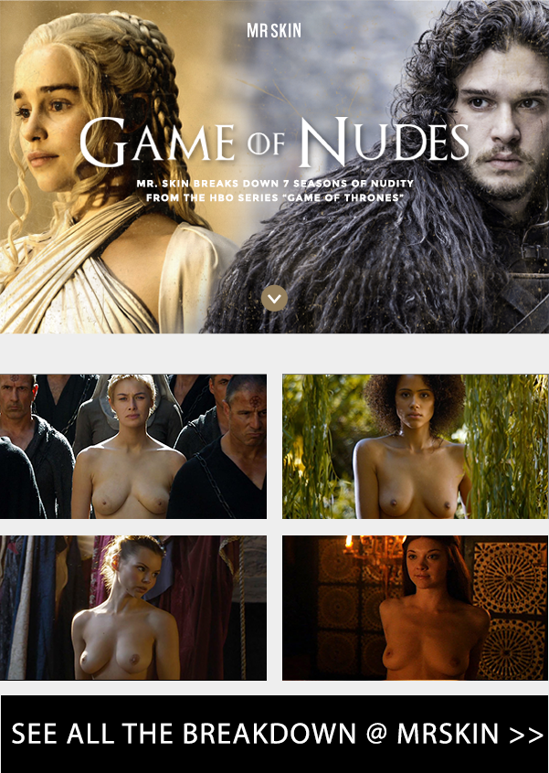 Game of Thrones Nude Stats