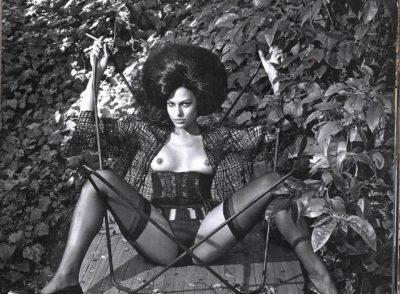 Eva Mendes Poses Naked