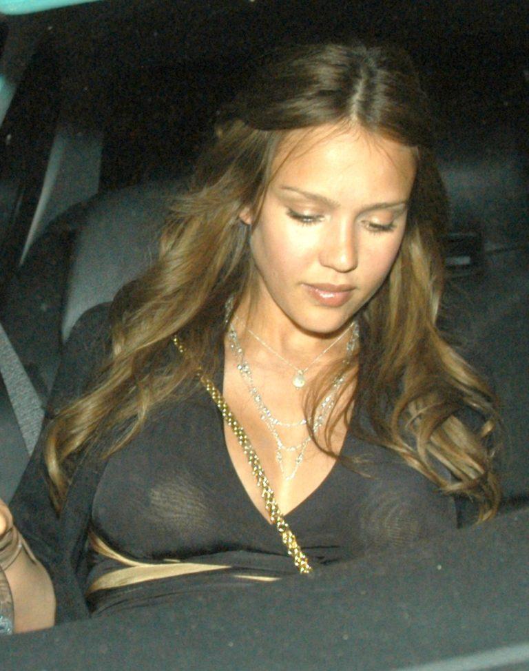 Jessica alba nude boobs