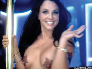 Britney Spears Naked Boobs