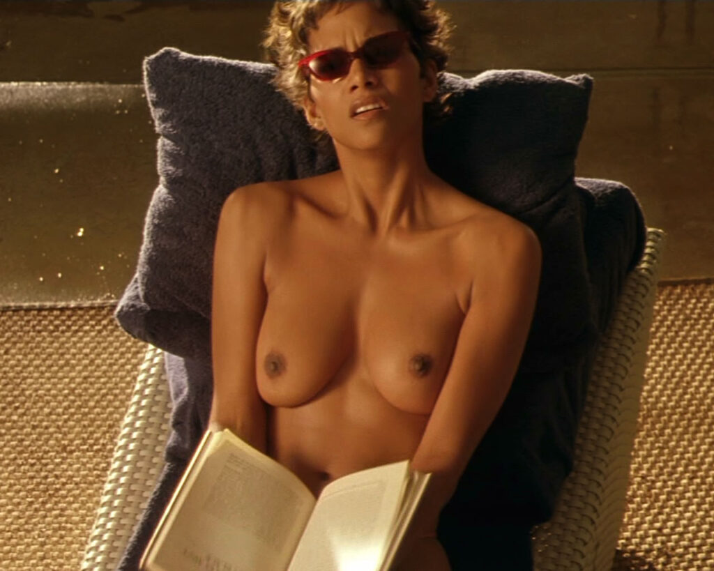 Halle Berry Topless